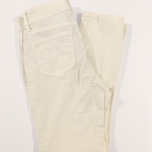 NYDJ Lift & Tuck Ankle Jeans Yellow